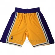 Pantalone Los Angeles Lakers Retro Amarillo