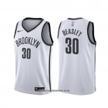 Camiseta Brooklyn Nets Michael Beasley #30 Association 2020 Blanco
