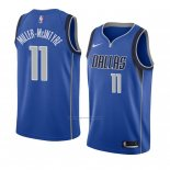 Camiseta Dallas Mavericks Codi Miller-Mcintyre #11 Icon 2018 Azul