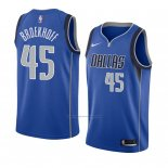 Camiseta Dallas Mavericks Ryan Broekhoff #45 Icon 2018 Azul