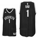 Camiseta Dia del Padre Brooklyn Nets DAD #1 Negro
