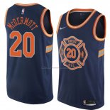 Camiseta New York Knicks Doug Mcdermott #20 Ciudad 2018 Azul