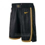 Pantalone Los Angeles Lakers Ciudad 2017-18 Negro