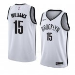 Camiseta Brooklyn Nets Alan Williams #15 Association 2018 Blanco