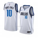 Camiseta Dallas Mavericks Dorian Finney-Smith #10 Association 2018-19 Blanco