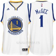 Camiseta Golden State Warriors JaVale McGee #1 Blanco
