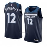 Camiseta Minnesota Timberwolves James Nunnally #12 Icon 2018 Azul