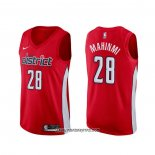 Camiseta Washington Wizards Ian Mahinmi #28 Earned Rojo
