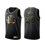 Camiseta Golden Edition Golden State Warriors Stephen Curry Negro