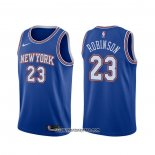 Camiseta New York Knicks Mitchell Robinson #23 Statement 2019-20 Azul