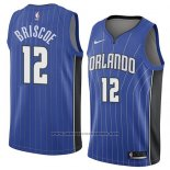 Camiseta Orlando Magic Isaiah Briscoe #12 Icon 2018 Azul