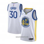 Camiseta Golden State Warriors Stephen Curry #30 Association 2020-21 Blanco