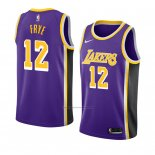 Camiseta Los Angeles Lakers Channing Frye #12 Statement 2018-19 Violeta