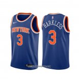 Camiseta New York Knicks Maurice Harkless #3 Icon Azul
