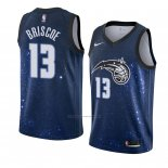 Camiseta Orlando Magic Isaiah Briscoe #13 Ciudad 2018 Azul