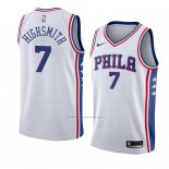 Camiseta Philadelphia 76ers Haywood Highsmith #7 Association 2018 Blanco
