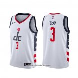 Camiseta Washington Wizards Bradley Beal #3 Ciudad 2019-20 Blanco