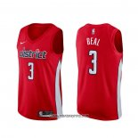 Camiseta Washington Wizards Bradley Beal #3 Earned Rojo