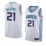 Camiseta Charlotte Hornets Isaiah Wilkins #21 Association 2018 Blanco
