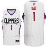 Camiseta Dia del Padre Los Angeles Clippers DAD #1 Blanco