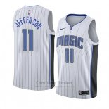 Camiseta Orlando Magic Amile Jefferson #11 Association 2018 Blanco