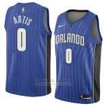 Camiseta Orlando Magic Jamel Artis #0 Icon 2018 Azul