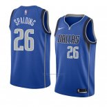 Camiseta Dallas Mavericks Ray Spalding #26 Icon 2018 Azul