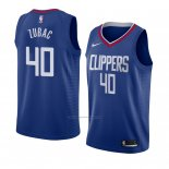 Camiseta Los Angeles Clippers Ivica Zubac #40 Icon 2018 Azul