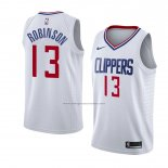 Camiseta Los Angeles Clippers Jerome Robinson #13 Association 2018 Blanco