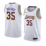Camiseta Los Angeles Lakers Reggie Bullock #35 Association 2018-19 Blanco