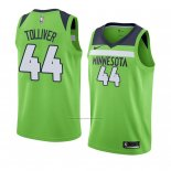 Camiseta Minnesota Timberwolves Anthony Tolliver #44 Statement 2017-18 Verde