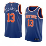 Camiseta New York Knicks Knicks Henry Ellenson #13 Icon 2018 Azul