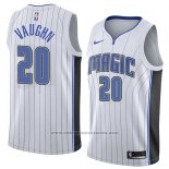 Camiseta Orlando Magic Rashad Vaughn #20 Association 2018 Blanco