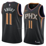 Camiseta Phoenix Suns Brandon Knight #11 Statement 2018 Negro