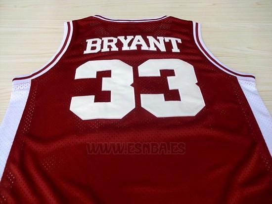 170cm//50~65kg LITBIT Camiseta de Baloncesto de los Hombres de Lower Merion 33# Kobe Bryant sin Mangas Transpirable de Secado r/ápido Deporte Chaleco de la Tapa,Rojo,S