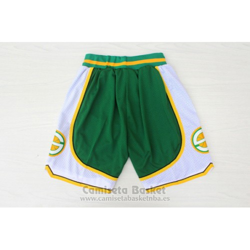 Pantalone Seattle Supersonics Hardwood Classics Verde
