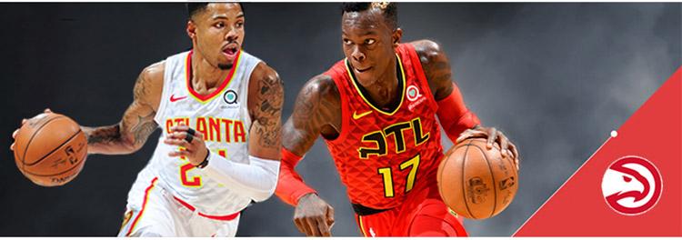 Camisetas baloncesto Atlanta Hawks