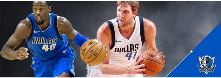 Camisetas baloncesto Dallas Mavericks