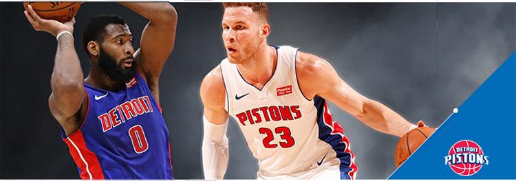 Camisetas baloncesto Detroit Pistons